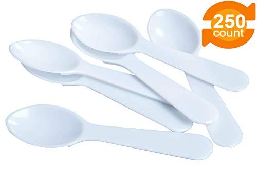 aus Kunststoff, robust, hochwertig, ideal für Desserts, Vorspeisen, Jello Shots, Joghurts und mehr, 250 Stück ()
