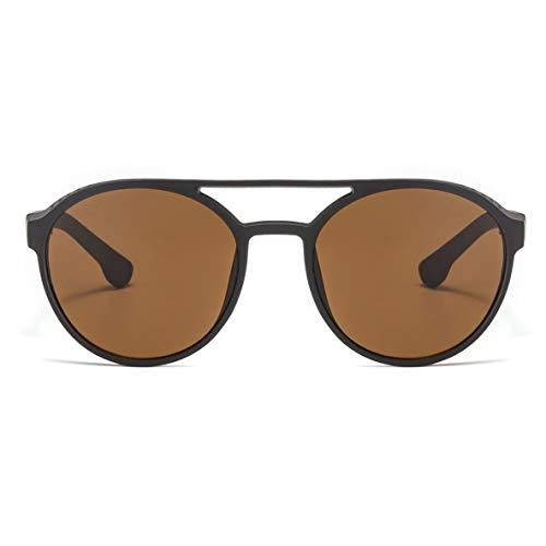 Noradtjcca Steampunk Sonnenbrille Frauen Männer Retro Brille Runde Flip Up Brille Steam Punk Vintage Mode Brillen Sonnenbrillen