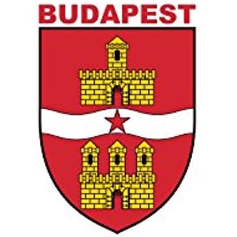 magFlags Bandera Large Budapest 1984-1990 | Budapest from 1 January 1984 to 30 September 1990 | Budapest zászlaja 1984. január 1. és 1990. szeptember 30. között 90x15
