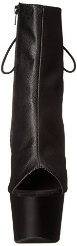 Pleaser Adore, Bottes Classiques femme, Noir, 38 EU Noir (Blk Faux Leather/Blk Matte)