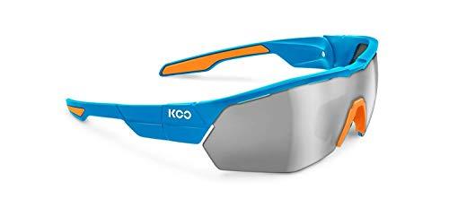 Kask Koo Gafas Open Cube Azul/Blanco y Lentes Zeiss