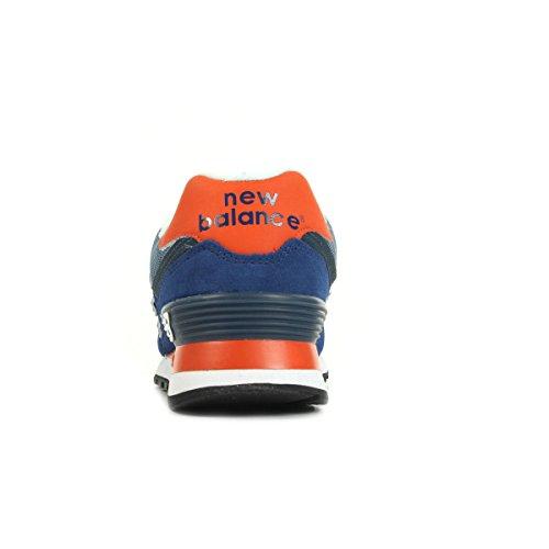 New Balance Ml574cpx-574, Scarpe da Corsa Uomo Blu / arancio / bianco, Multicolore (Navy/Red 415)