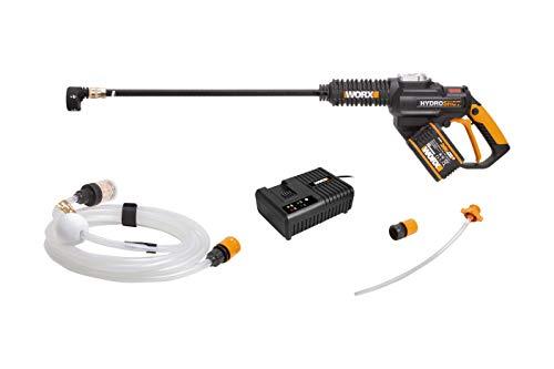 WORX WG630E.1 18V (20V MAX) 4.0Ah Cordless Brushless Hydroshot Portable Pressure Cleaner