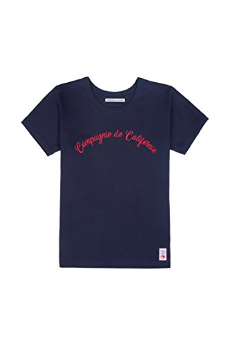 T-Shirt-Femme-Josephine-Made-in-France-Compagnie-de-Californie-M-Marine