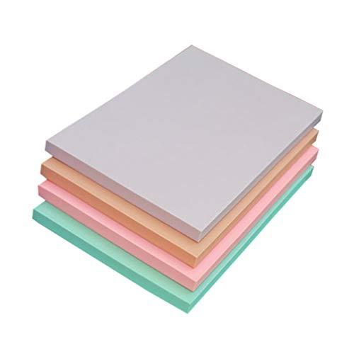 SUPVOX stempel schnitzen blöcke professionelle gummi ziegel weichgummi für handwerk projekt stempel werkzeug 4 stücke (zufällige farbe)