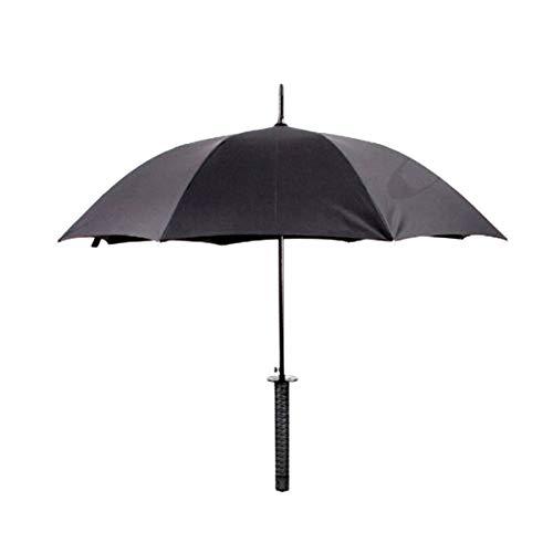 Paraguas, marca YINO Multicolor negro Samurai sword