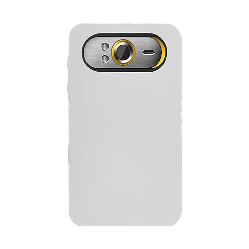 Amzer Jelly Case Étui en silicone pour HTC HD7 Blanc transparent (Import Royaume Uni)