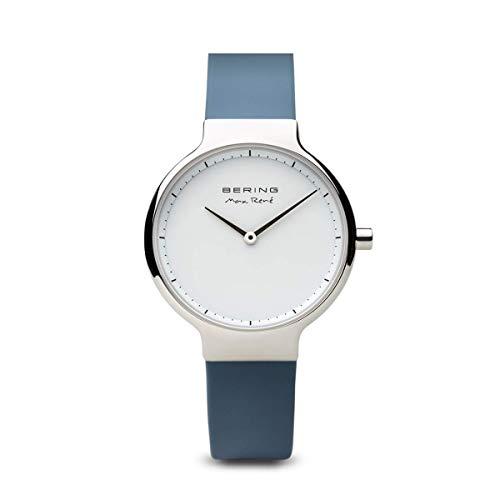 BERING Damen-Armbanduhr Analog Quarz Silikon 15531-700
