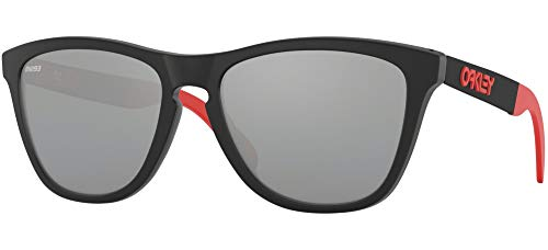 Ray-Ban Herren 0OO9428 Sonnenbrille, Schwarz (Matte Black Ink), 55