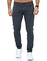 Redbridge Uomo Slim-Fit Denim Jeans di Base Casuale Chino Stretch Moda Pantaloni