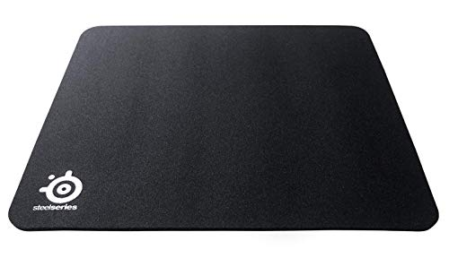 SteelSeries QcK Mass - Tapis de souris Gaming - 320mm x 285mm x 6mm - Tissu - Base en gomme - Noir