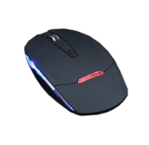 ularma Mode Schlank 1600dpi 2.4g Wireless Optical Mouse Mice + Receiver für PC Notebook -