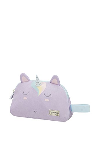 Samsonite Happy Sammies - Kulturtasche, 21.5 cm, 2 L, Lila (Unicorn Lily)