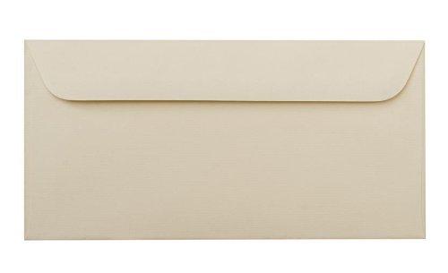50 Umschläge DIN lang, 114x229mm, creme Art. 248-42