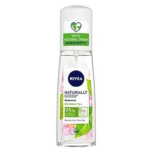 Nivea Naturally Good Deodorant, Bio Green Tea, 75 ml