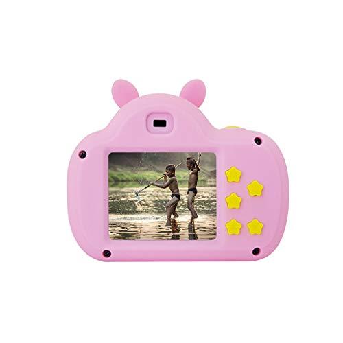 Hukz Schweinestil, DV-Kamera für Kinder,8X Digitaler Zoom-Camcorder HD 1080P Handheld-Digitalkamera für Kinder (Pink)