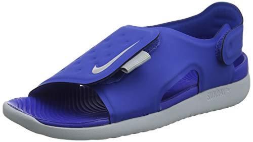 Nike Jungen Sunray Adjust 5 (GS/PS) Dusch- & Badeschuhe, Blau (Game Royal/Wolf Grey 400), 32 EU