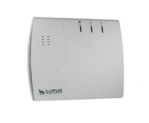 LUPUSEC XT1 SmartHome Funk Alarmanlage, Basisstation, max. 20 Melder, Einbruchmeldeanlage,...