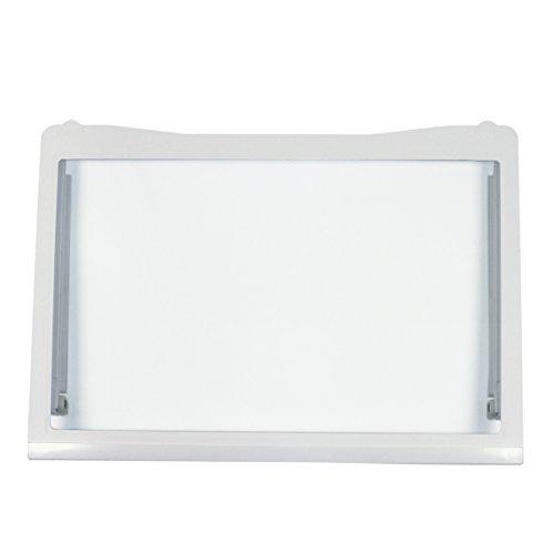 LG Electronics ACQ32537303 ORIGINAL Glasplatte Glasboden Abstellplatte Einlegeboden 500x350 mm Kühlschrank u.a. für GR-B459BAGZ.AAVQLGD GR-B459BNFW.ASTQLGD -