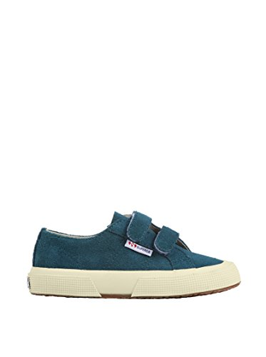 Superga 2750 Suej Velcro, Baskets mode mixte enfant Pavone