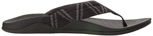 Chaco Mens Waypoint Cloud Athletic Sandal Glitch Black