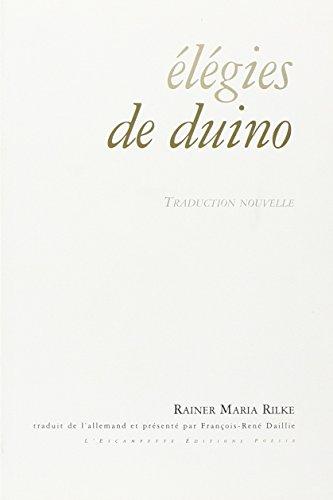 Elégies de Duino : Edition bilingue français-allemand