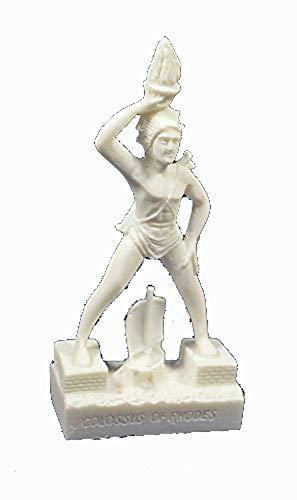 Estia Creations Koloss von Rhodos Skulptur Gott der Sonne Helios Miniatur Statue (Koloss-statue)