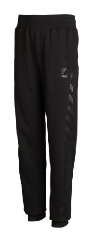 Hummel Mädchen Jogginghose Classic Bee Sweat Pants Black, 8 - Black Classic Fleece Hose