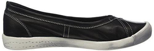 Softinos Ilma Smooth, Ballerine Donna nero (nero)