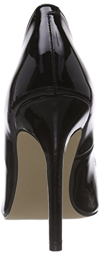 La Strada Schwarzer Lack-Leder-Look Damen Pumps Schwarz (1301 - patent black)
