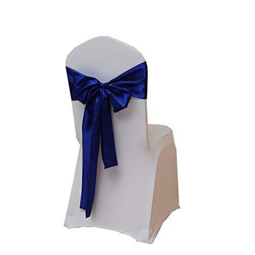 Trimming Shop Nastro di raso sedia Fuller fascia da 17,8x 274,3cm (18x 274cm), decorazione per matrimoni, ricevimenti, decorazione per festa...