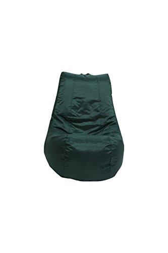 MaxiBean Bean Bag Pouf Intérieur Extérieur Jardin Coussin pour Fauteuil Relax Enfants Chaise Racing Vert