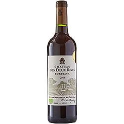Château des Deux Rives France Bordeaux Vin Bio AOP 75 cl - Lot de 3