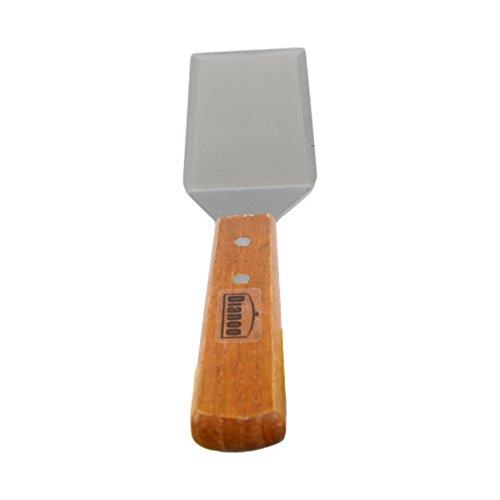 Dianoo Dell'acciaio inossidabile del quadrato Spatola Pancake Turner con tagliente