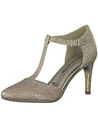Tamaris Damen Pumps Gold, Schuhgröße:EUR 37