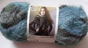 Quer Patons Scarf Damen Schal & Muster Strickwolle/082 Wolle (Wolle Muster Patons)