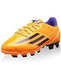 Adidas F5 TRX FG J Kinder Fussballschuhe solar zest-blast purple-black - 36