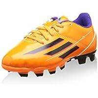 half off b4523 3caf6 Adidas F5 TRX FG J Scarpe da Calcio Soccer Arancione Grigio para Bambini. Vedi  opzioni Taglia