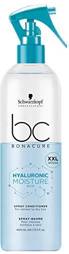Schwarzkopf BC Bonacure Hyaluronic Moisture Kick Spray Conditioner 400 ml Entwirrt & spendet tiefgehende Feuchtigkeit