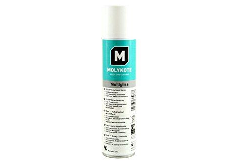 Preisvergleich Produktbild Molykote Multigliss 5in1 ( Kontaktspray / Schnellrostlöser / Korrosionsschutz / Schmierstoff / Metallpflege) 400ml Sprühdose (1)