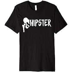 """Hüft-OP Geschenk: """"Hipster"""" T-Shirt nach Hüftoperation"""