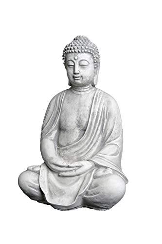 Herrlicher Buddha aus Steinguss