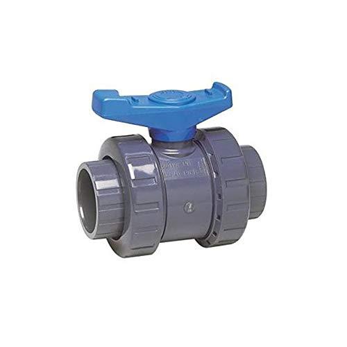 Vanne en PVC - SVT pour tuyau Diamètre 40 mm Lot 2 vannes - piscine- aquaponie - hydroponie - jardiboutique