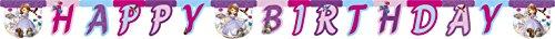 die Erste Happy Birthday Banner (Sofia Party-ideen)