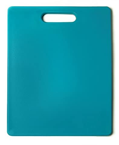 Architec The Gripper Cutting Board, 11 by 14-Inch, Turquoise by ArchiTEC Housewares