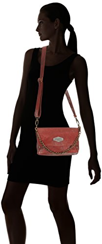 Frankie's Garage - Endy, Borsa a spalla Donna Rosso (Rot (red 040))