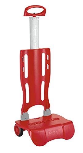 Safta , Carrello portavaligie Unisex rosso 30 cm