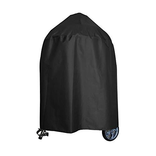 Awnic Grill Abdeckung Schutzhülle für Kugelgrill Abdeckung Reißfest Wasserdicht 210D Oxford Ø77X70cm