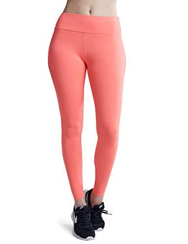 Wirezoll Damen Leggings Blinkdicht Yoga Leggings Fitnesshose, Rot, M (DE Konfektionsgröße 38)