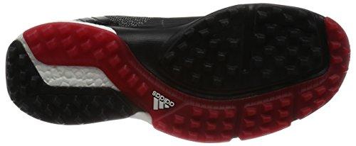 Adidas Adipower Sport Boost 3 Chaussures De Golf, Homme Noir / Gris / Rouge